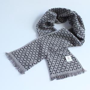 今治タオル コットンマフラー Imabari Towel Cotton Muffler Renka れんか Newブラック|tanokichi