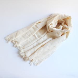今治タオル タオル ストール なみ Imabari Towel Towel Stole Nami アイボリー|tanokichi
