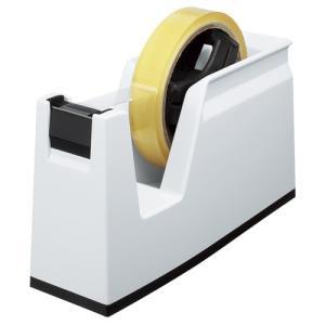 コクヨ テープカッター カルカット 大巻・小巻両用 白 T−SM100W 1台
