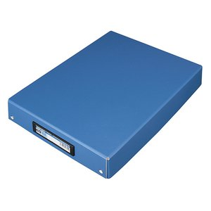 TANOSEE デスクトレー A4 ワイド 青 1個 tanomail
