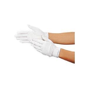 TRUSCO ウェットガード手袋 耐水加工革製 白 DPM−810−W 1双 (お取寄せ品)