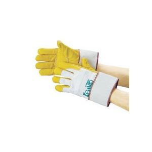 カミキ 防振手袋 天然牛表革製 TC−1 1双 (お取寄せ品)