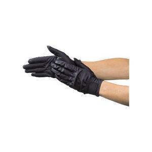 TRUSCO ウェットガード手袋 耐水加工革製 黒 DPM−810−BK 1双 (お取寄せ品)