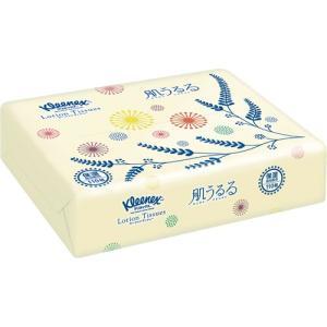 日本製紙クレシア クリネックス ローションティシューソフトパック 肌うるる 110組 1個|tanomail