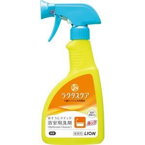 ライオン ルック ラクタスケア おそうじクイック浴室用洗剤 400ml 1本|tanomail