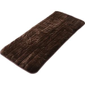 YAMAZEN 空気をキレイにする洗えるどこでもカーペット ブラウン YWC−184F(T) 1枚 tanomail