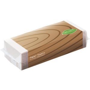 TANOSEE ペーパータオル アースカラー(エコノミー) 250枚 1パック|tanomail