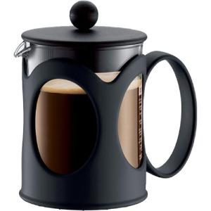 メーカー:bodum   品番:10683-01 ステンレスフィルターでコーヒーオイルを抽出。誰が入...