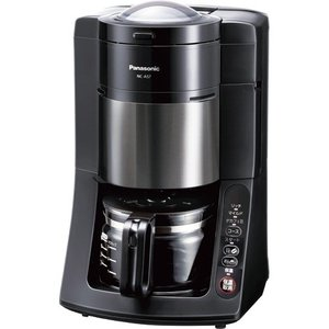 パナソニック 沸騰浄水コーヒーメーカー ブラック NC−A57−K 1台