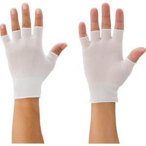 マックス 快適インナー半指手袋/Mサイズ MX387−M 1双 (メーカー直送)の画像