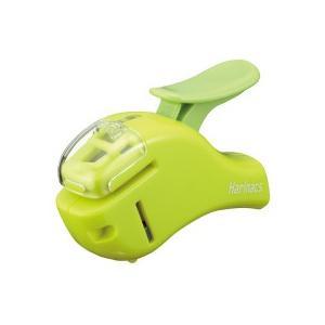 コクヨ 針なしステープラー(ハリナックスコンパクトα) 5枚とじ 緑 SLN−MSH305G 1個|tanomail