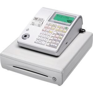 カシオ 電子レジスター ホワイト TE−400−WE 1台(お取寄せ品)|tanomail