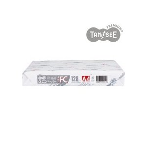 TANOSEE αエコペーパー タイプFC A3 特厚口 128g 1冊(200枚) tanomail
