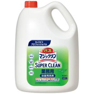 花王 バスマジックリン 除菌消臭プラス 業務用 4.5L 1本|tanomail