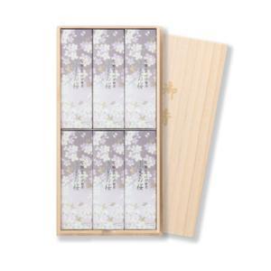 日本香堂 宇野千代のお線香 淡墨の桜 桐箱 6...の関連商品3