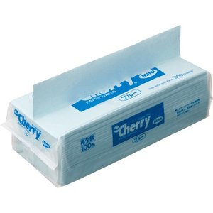 新橋製紙 ペーパータオル ニューチェリー ブルー ミニ エコノミー 200枚 CH2040B 1パック|tanomail