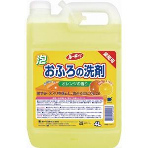 第一石鹸 ルーキーV おふろ洗剤 業務用 4L 1本|tanomail