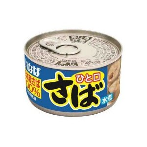 いなば食品 ひと口さば水煮 115g 1缶