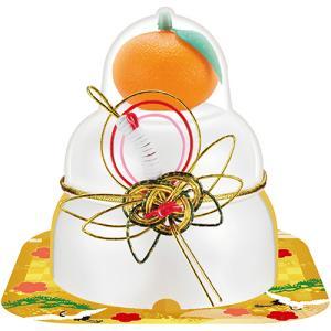 佐藤食品 サトウの福餅入り鏡餅 小飾り鶴橙付き 66g 1パック