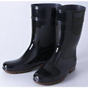 ミドリ安全 超耐滑長靴 ハイグリップ 22.0cm HG2000N−BK−22.0 1足 (お取寄せ品)
