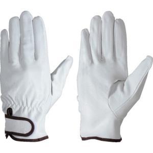 シモン 豚本革手袋マジック式 PL717 L 1双 (メーカー直送)の画像