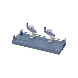 オープン工業 ドリル式2穴パンチ 166枚穿孔 ライトグレー D−2 1台