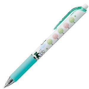 たのくんオリジナルボールペン (ラバー軸:グリーン) 1本|tanomail