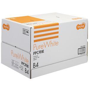TANOSEE PPC用紙 Pure White B4 1箱(2500枚:500枚×5冊)|tanomail