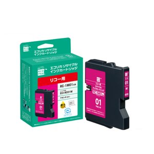 メーカー:エコリカ 品番:ECI-RC01M リサイクルインク