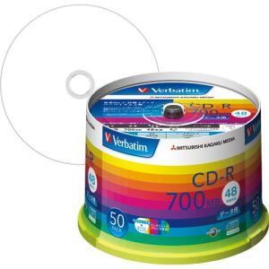 バーベイタム データ用CD-R 700MB ホワ...の商品画像