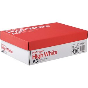 PPC PAPER High White A3 1箱(1500枚:500枚×3冊)|tanomail