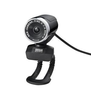 サンワサプライ FULL HD WEBカメラ ブラック CMS−V37BK 1台 (お取寄せ品)