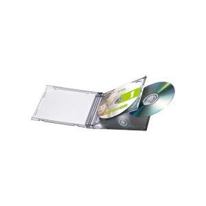 サンワサプライ DVD・CDケース 10mm厚 2枚収納 ブラック FCD−22BKN 1パック(5枚)|tanomail