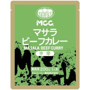 エム・シーシー食品 マサラビーフカレー 中辛 200g 1パック
