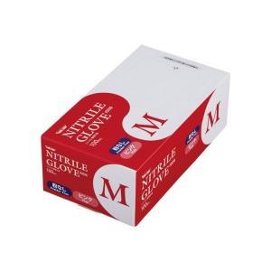 川西工業 ニトリル 使いきり極薄手袋 粉なし ピンク M #2039 1箱(100枚)|tanomail