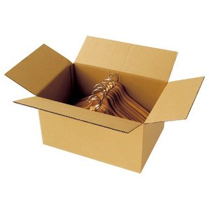 TANOSEE 無地ダンボール箱 Lサイズ 高さ250mm 業務用パック 1パック(30枚)|tanomail