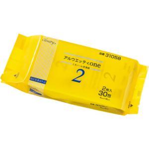 メーカー:オオサキメディカル  品番:31058  1包に2枚入でしっかり消毒ができる!脱脂綿タイプ...
