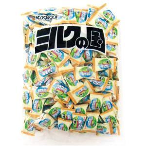 メーカー:春日井製菓   品番:61609   ミルクの風味豊かな大粒キャンディ。