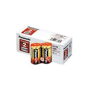 メーカー:パナソニック 品番:LR14XJN/10S 抜群の総合性能と高い信頼性、アルカリ電池のスタ...