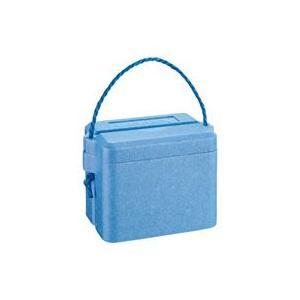 石山 発泡クールボックス 3.9L ブルー TI−35 1個