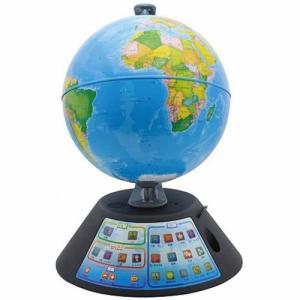 ドウシシャ しゃべる地球儀 パーフェクトグローブ GEOPEDIA(ジオペディア) PG−GP17 1台 (お取寄せ品)|tanomail