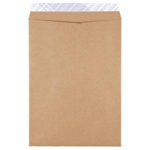 ピース 発送用封筒スーパークラフト テープ付 角2 100g/m2 業務用パック 735−00 1箱(500枚)|tanomail