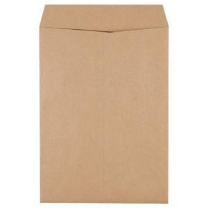 ピース 発送用封筒スーパークラフト テープなし 角2 100g/m2 業務用パック 733−00 1箱(500枚)|tanomail