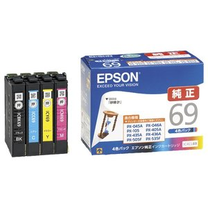 エプソン インクカートリッジ 4色パック IC...の関連商品9