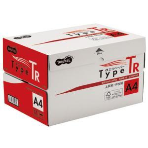 TANOSEE αエコペーパー タイプTR A4 1箱(2500枚:500枚×5冊)|tanomail