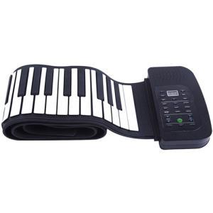 メーカー:ナカガミ   品番:SMALY-PIANO-88   持ち運びや収納に便利なロールタイプの...