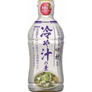 マルコメ 液みそ つきぢ田村監修 冷や汁の素 430g 1個