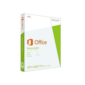 マイクロソフト Office Personal 2013 32−bit/x64 日本語版 メディアレス 1本