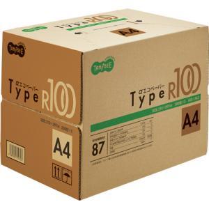 TANOSEE αエコペーパー タイプR100 A4 1箱(2500枚:500枚×5冊)|tanomail