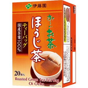 伊藤園 おーいお茶 ほうじ茶ティーバッグ 2.0g 1箱(20バッグ)